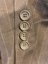 Nautica Men's Brown Stripe Suit 48R Waist 40 Inseam 30 $578 - SUIT CHARITY OUTLET