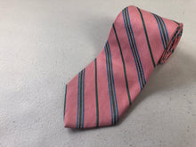 Brooks Brothers Pink Striped Silk Tie $125 - SUIT CHARITY OUTLET