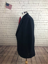Cricketeer Men's Navy Stripe Blazer Sport Coat Suit Jacket Size 42R $245