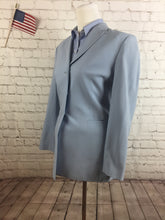 Talbots Women's Blue WOOL Blazer Sport Coat Suit Jacket 8 $328