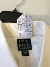 Jos. A. Bank White Solid Cotton Dress Shirt 16.5 36/37 $125 - SUIT CHARITY OUTLET