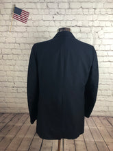 Cricketeer Men's Navy Stripe Blazer Sport Coat Suit Jacket Size 42R $245 - SUIT CHARITY OUTLET