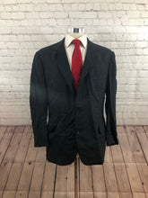 Brooks Brothers Men's Gray Stripe 2 Button Suit 42R 34X28 - SUIT CHARITY OUTLET