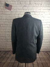 Nino Cerruti Men's Gray Stripe 2 Button 1 Vent Suit Size 44S 34x29 $295 - SUIT CHARITY OUTLET