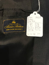 Brooks Brothers Men's Gray Solid WOOL BLEND Suit 42R Waist 38 Inseam 28 $895 - SUIT CHARITY OUTLET