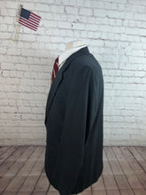Custom Made Men's Gray Wool Suit 42R 36X33 - SUIT CHARITY OUTLET