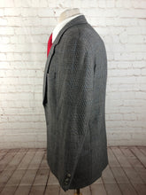 Sas951 hart schaffner marx Gray plaid wool blazer - SUIT CHARITY OUTLET