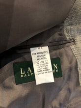 Lauren Ralph Lauren Men's Gray Silk Blend Blazer Sport Coat Suit Jacket Size 48R $335 - SUIT CHARITY OUTLET