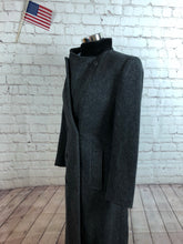 Forecaster Women's Gray Herringbone WOOL Winter Coat Jacket 5/6 $895 - SUIT CHARITY OUTLET