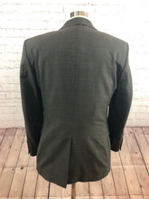 Jos. A. Bank Men's Brown Plaid Wool Two Button Suit 38S 32X27 - SUIT CHARITY OUTLET