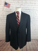 Croft & Barrow Men's Black Blazer Sport Coat Suit Jacket Size 44R $295