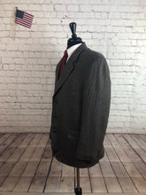Croft & Barrow Men's Brown Check Wool 3 Button Blazer Sport Coat Suit Jacket Size 44R $245 - SUIT CHARITY OUTLET