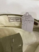 Paul Stuart Men's Solid Beige Khaki Pants 34X33 $195 - SUIT CHARITY OUTLET