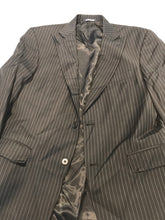 Hart Schaffner Marx Men's Black Stripe Blazer 40S - SUIT CHARITY OUTLET