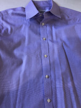 Charles Tyrwhitt Purple Plaid Cotton Dress Shirt 16 32/33 $125 - SUIT CHARITY OUTLET
