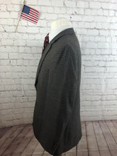 Jos A. Bank Men's Gray Houndstooth WOOL Blazer Sport Coat Suit Jacket Size 40R $595 - SUIT CHARITY OUTLET