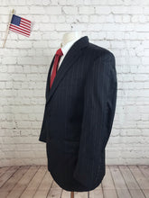 Hart Schaffner Marx Men's Gray Stripe Blazer 38S - SUIT CHARITY OUTLET