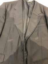 Uomo Elegant Men's Black Blazer Sport Coat Suit Jacket Size 46R $295 - SUIT CHARITY OUTLET