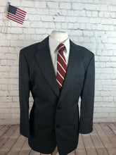 Haggar Men's Gray Blazer Sport Coat Suit Jacket 44R $295 - SUIT CHARITY OUTLET