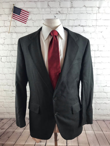 Jos. A. Bank Men's Gray Wool Suit 42R Waist 34 Inseam 29 $798 - SUIT CHARITY OUTLET
