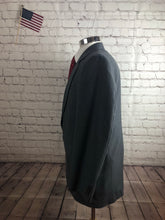Imperial by Haggar Men's Gray Stripe 2 Button 1 Vent Suit Size 42R 34x31 $235 - SUIT CHARITY OUTLET