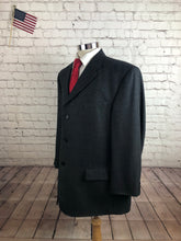 Pierre Cardin Men's Gray Birds Eye Blazer Sport Coat Suit Jacket Size 46L $295 - SUIT CHARITY OUTLET