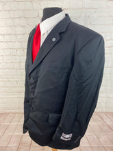 Stafford Men's Gray Stripe Wool Blazer 48R $495 New With Tags - SUIT CHARITY OUTLET