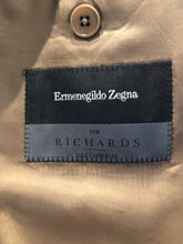 Ermenegildo Zegna Men's Brown Wool Blazer Sport Coat Suit Jacket 48R - SUIT CHARITY OUTLET