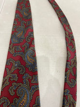 Marc Jeffries Men's Burgundy Floral Silk Tie $89 - SUIT CHARITY OUTLET