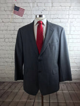 Brooks Brothers Men's Gray Plaid WOOL BLEND Suit 44R Waist 36 Inseam 29 $895