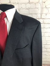 Joseph & Feiss Men's Gray 2 Button Wool Blazer Sport Coat Suit Jacket Size 46S $395 - SUIT CHARITY OUTLET