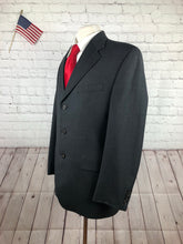 Chaps Ralph Lauren Men's Gray Wool Wool-Cashmere Blazer Sport Coat Suit Jacket 40R - SUIT CHARITY OUTLET