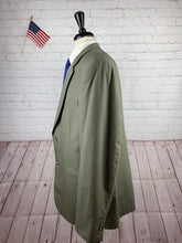 Jos. A. Bank Men's Olive Wool Blazer Sport Coat Suit Jacket 46L - SUIT CHARITY OUTLET