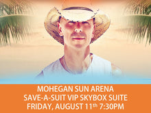 Kenny Chesney Single Concert Ticket In VIP Skybox Suite - Mohegan Sun CT AUG 11 2017  ****ONLY 2 LEFT!