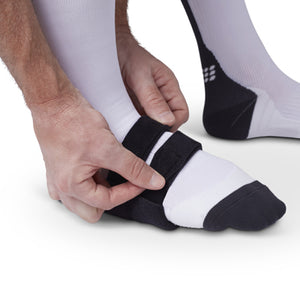 Restiffic Relief compression foot wrap with customizable Flexor-T massage pad