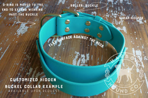 "The Taolo, 1.5"" Waterproof Quick Control Collar"