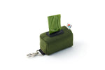 The No Dangle Dog Poop-bag Dispenser - Olive Green