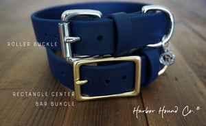 "HALCYON 1"" Crystal Studded Buckle Collar"