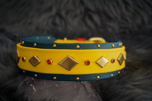 "ARTEM 1.5"" Studded Buckle Collar"