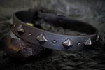 "DEOMALI 1"" Wide Studded Buckle Collar"