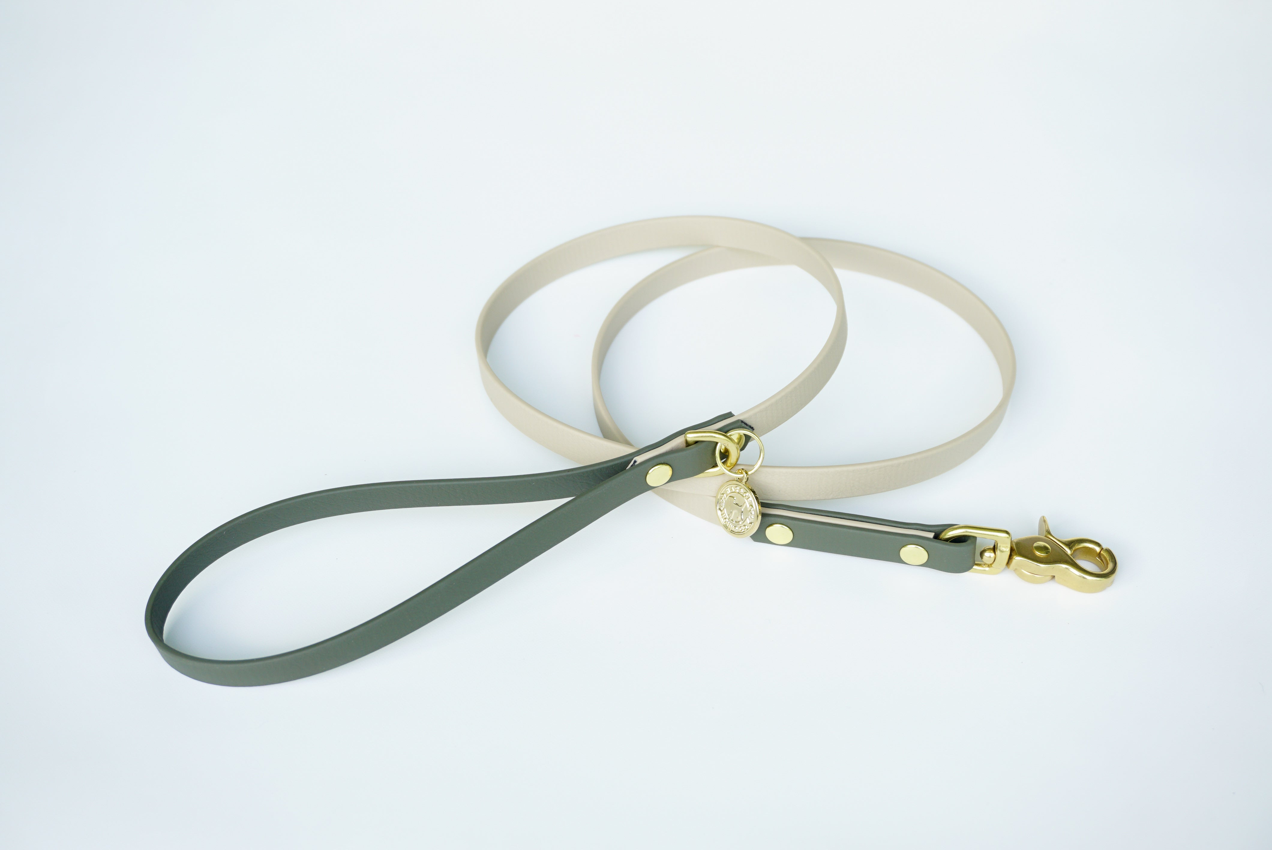 "Small 1/2"" Two-Tone Waterproof Leash"