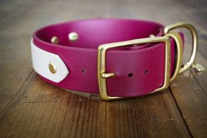 "The Sonali - 1.5"" Layered Buckle Collar"