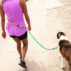 WHOLE LOTTA LEASH Adjustable Nantucket Rope Leash