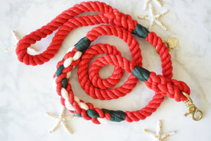 MERRY & BRIGHT Rope Leash