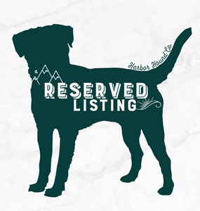 Reserved Listing for Alexandra