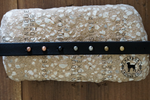 "Fi Compatible 1.5"" TOFINO Swarovski Studded Buckle Collar"