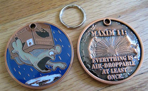 Coin Maxim 11: Air Droppable Key Chain
