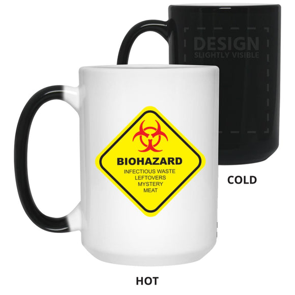 Biohazard Color Changing Mug