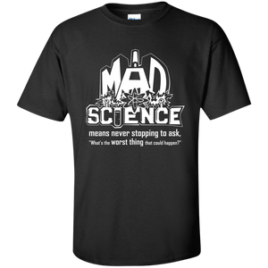 Mad Science Shirt Tall Sizes
