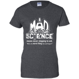 Mad Science Shirt Ladies sizes
